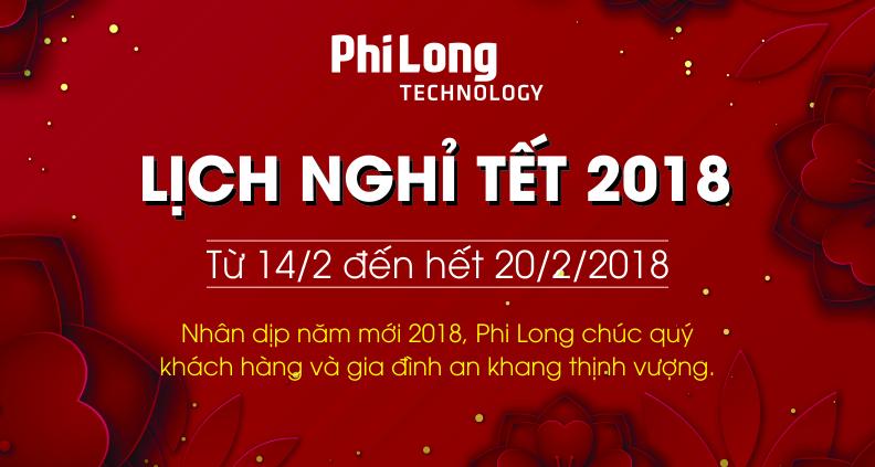<b>Thông báo</b> Lịch Nghỉ Tết Phi Long