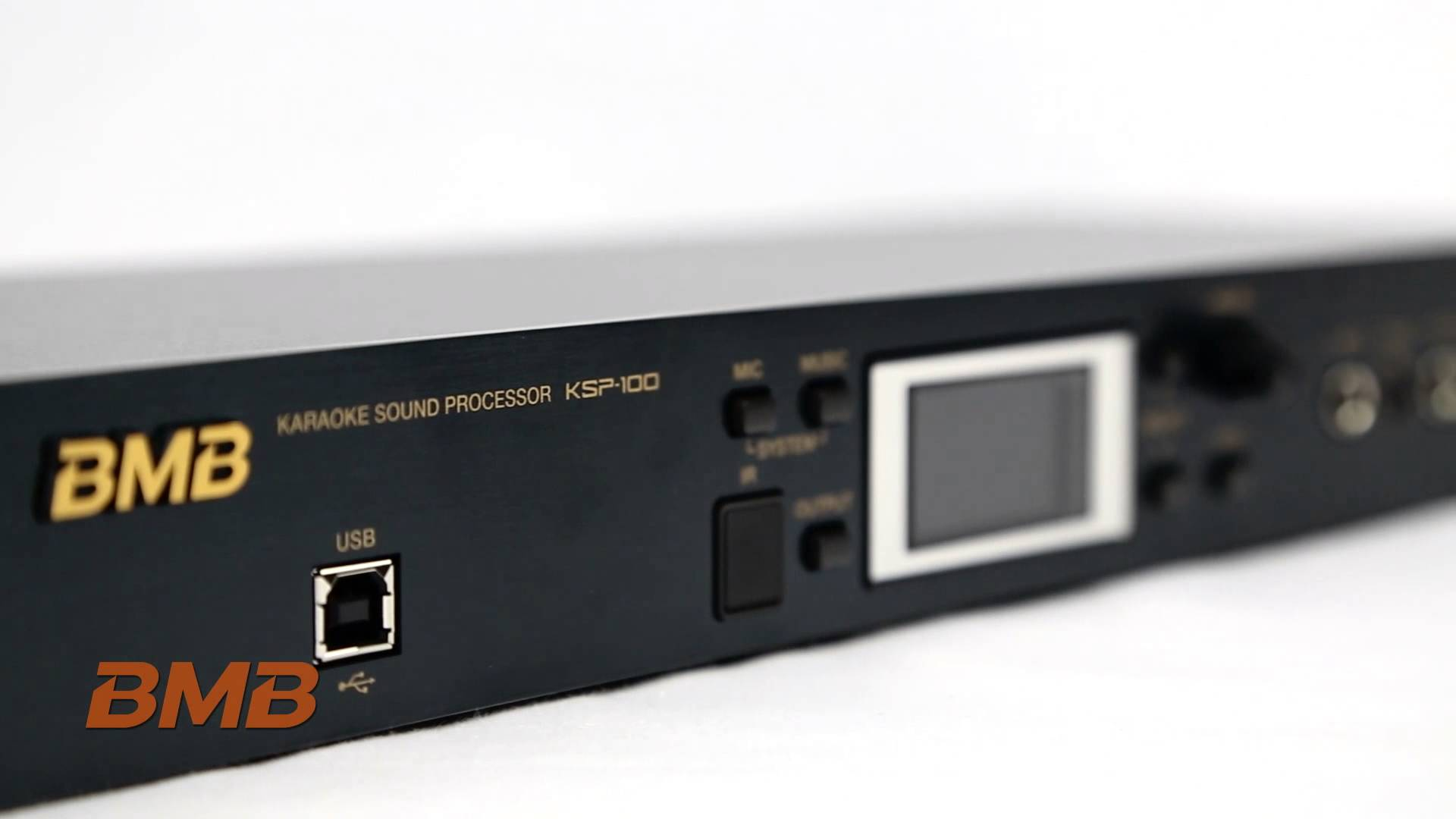 Kết quả hình ảnh cho Mô tả bộ xử lý Karaoke Processor BMB 100