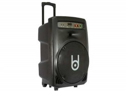 SPEAKERS BD H157DY + 2 MIC KHONG DAY (LOA KEO USB+SD+ BLUETOOTH)