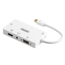 Mini displayport to hdmi/dvi/vga/audio adpater unitek y6354