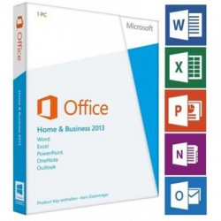 Office Home and Business 2013 x32-x64 bit Eng APAC DVD (T5D-01595)