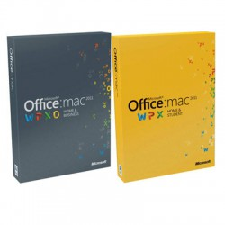 MS Office Mac Home Business 1PK 2011 DVD W6F-00063