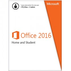 Office Home and Student 2016 Win English APAC EM Medialess (79G-04363)