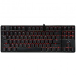 keyboard dare u dk87 black machanical led ten key less (full cơ)