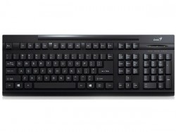 keyboard genius kb125 black usb