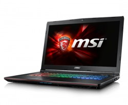 NOTEBOOK MSI GE72 7RE 073XVN(CORE I7 7700HQ/16GB/1T+256G/17.3/2G/DOS)
