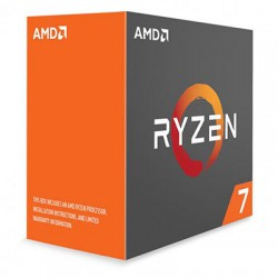 CPU AMD RYZEN 7 1800X  (3.6Ghz Turbo 4.0Ghz, 16MB L3 CACHE, 95W) AM4