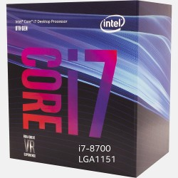 CPU INTEL CORE i7 8700 (3.2Ghz, 12MB Cache, LGA1151V2) COFFEELAKE
