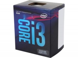 CPU INTEL CORE i3 8100 (3.6Ghz, 6MB Cache, LGA1151V2) COFFEELAKE