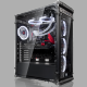 CASE COEUS EVO (E-ATX, Alu. Tempered Glass)
