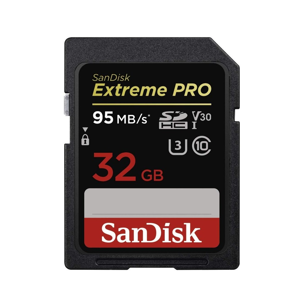 Thẻ nhớ SD Sandisk Extreme Pro 32gb V30 95Mb/s (SDSDXXG-032G-GN4IN)