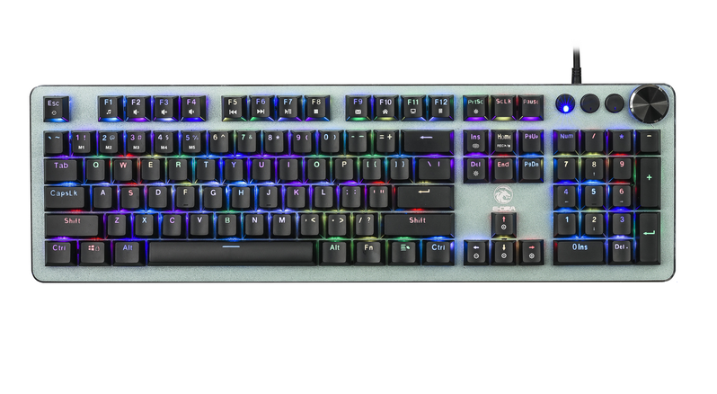 Bàn Phím Cơ E-DRA EK310 RGB Red Switch (104key/Led RGB/Keycap ABS)