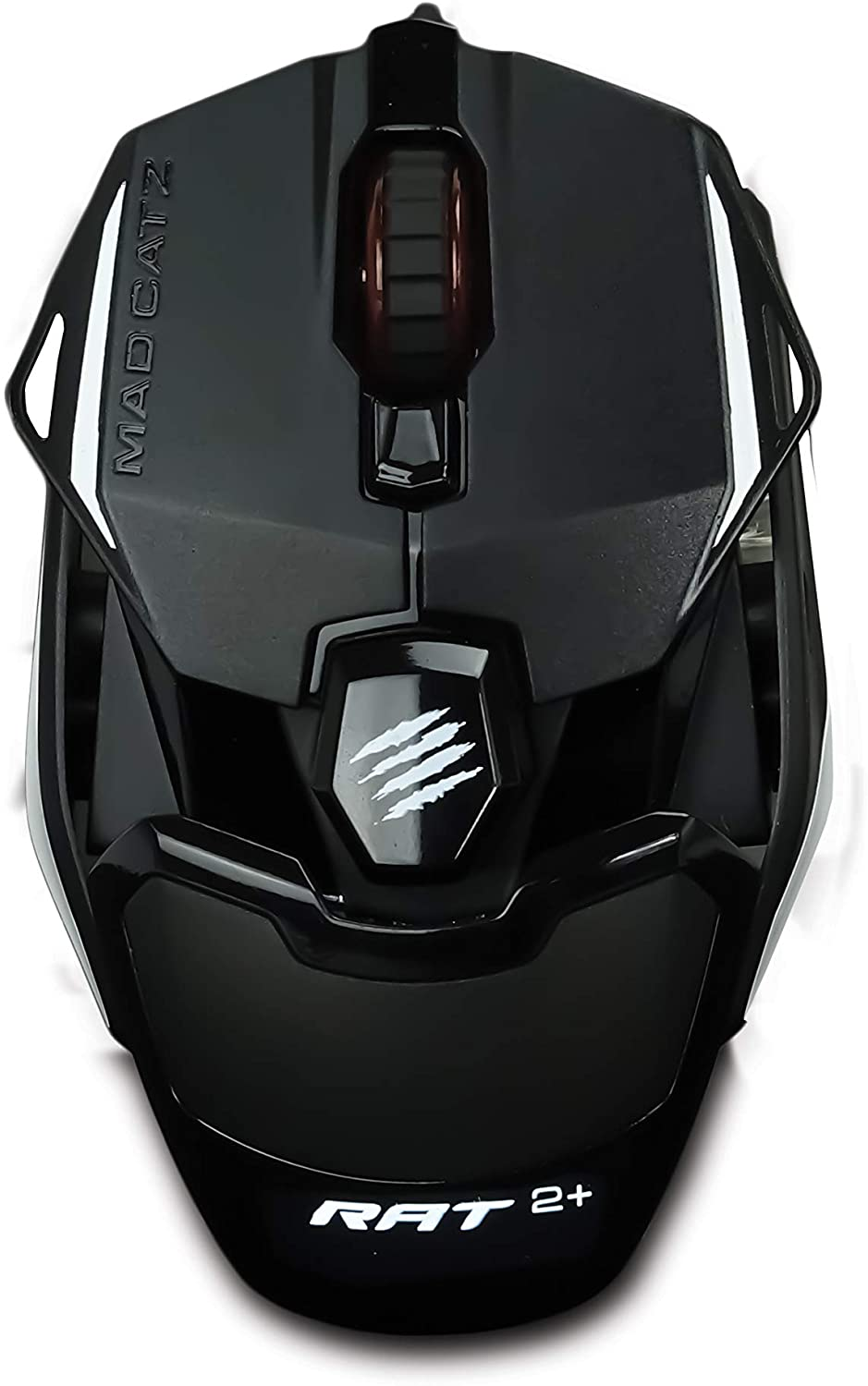 MOUSE MADCATZ AUTHENTIC R.A.T 2+ OPTICAL GAMING (5000DPI/BLACK)