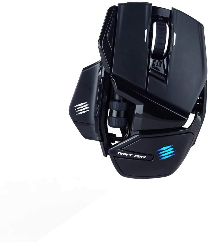MOUSE MADCATZ AUTHENTIC AIR + WIRELESS GAMING (12000DPI/BLACK)
