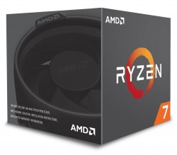 CPU AMD RYZEN 7 2700 (3.2Ghz Turbo 4.1Ghz, 8C/16T, 20MB, 65W) AM4 RGB