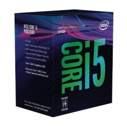 CPU INTEL CORE i5 8600 (3.1Ghz, 6C/6T, 9MB, LGA1151V2) COFFEELAKE
