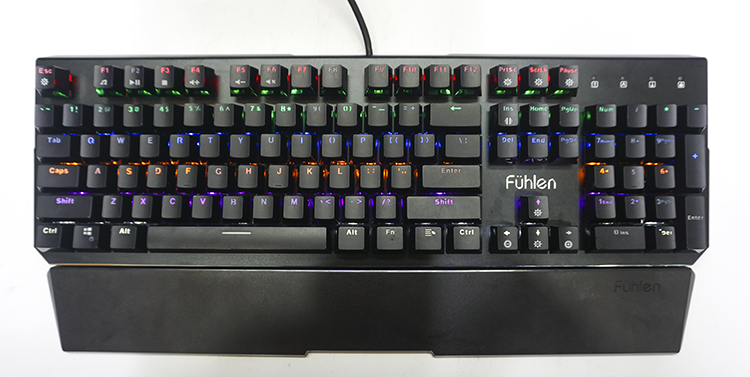 Bàn Phím Cơ Gaming Fuhlen D Destroyer Black Machanical Led RGB